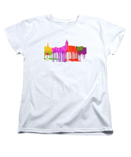 Annapolis Maryland Skyline      Women's T-Shirt (Standard Cut) by Marlene Watson