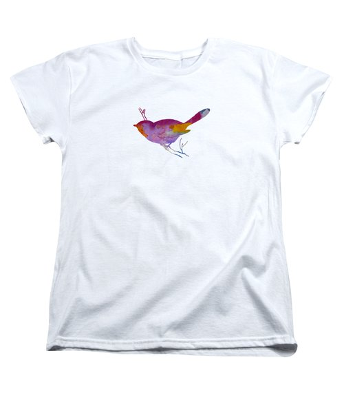Chickadee Women's T-Shirt (Standard Cut) by Mordax Furittus