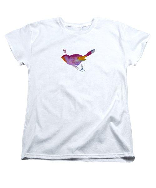 Chickadee Women's T-Shirt (Standard Cut) by Mordax Furittus