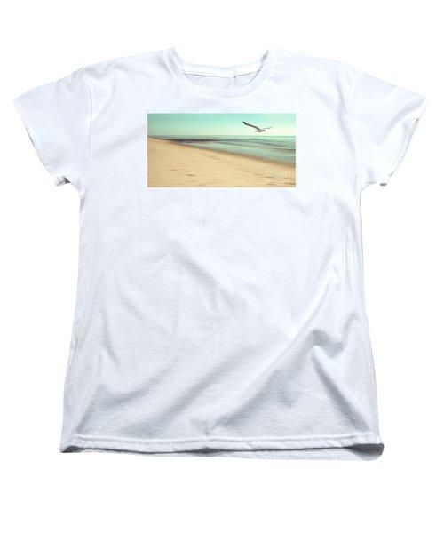 Women's T-Shirt (Standard Cut) featuring the photograph Desire Light Vintage by Hannes Cmarits