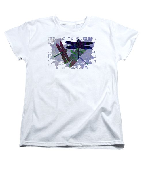 3 Dragonfly Women's T-Shirt (Standard Cut) by Jack Zulli