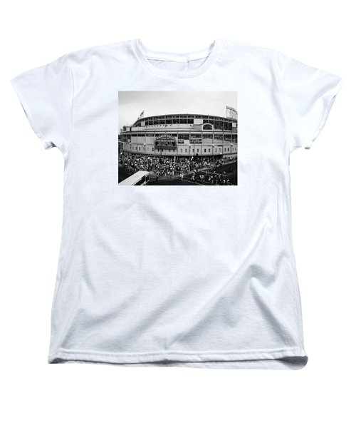 High Angle View Of Tourists Women's T-Shirt (Standard Cut) by Panoramic Images