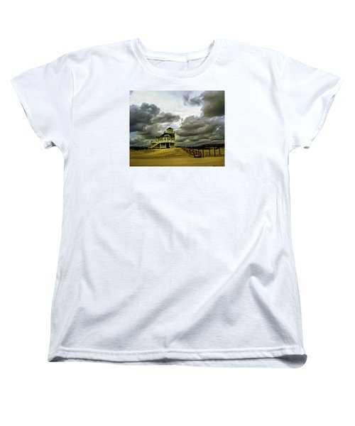 House At The End Of The Road Women's T-Shirt (Standard Cut) by Gordon Engebretson