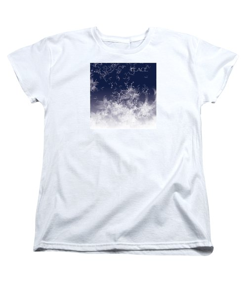 Women's T-Shirt (Standard Cut) featuring the digital art Peace by Trilby Cole