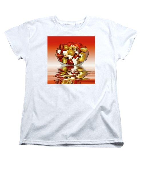 Plum Cherry Tomatoes Women's T-Shirt (Standard Cut)