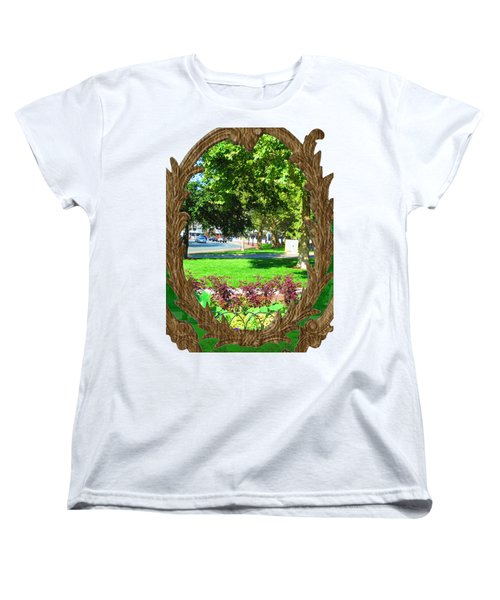 Shirts N Pod Gifts Boston N Surrounding Area Nature Photography By Navinjoshi Fineartamerica Pixles Women's T-Shirt (Standard Cut) by Navin Joshi