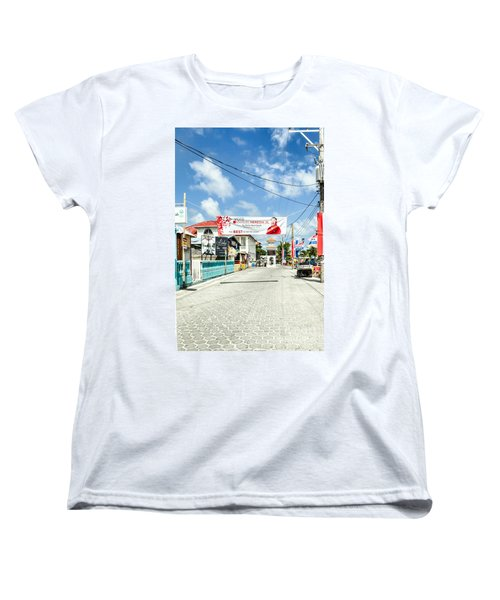 Street Scene Of San Pedro Women's T-Shirt (Standard Cut)