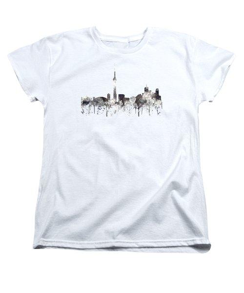 Toronto Ont.skyline Women's T-Shirt (Standard Cut) by Marlene Watson