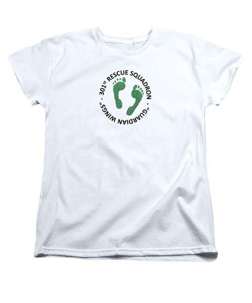 301st Rescue Squadron Women's T-Shirt (Standard Cut) by Julio Lopez