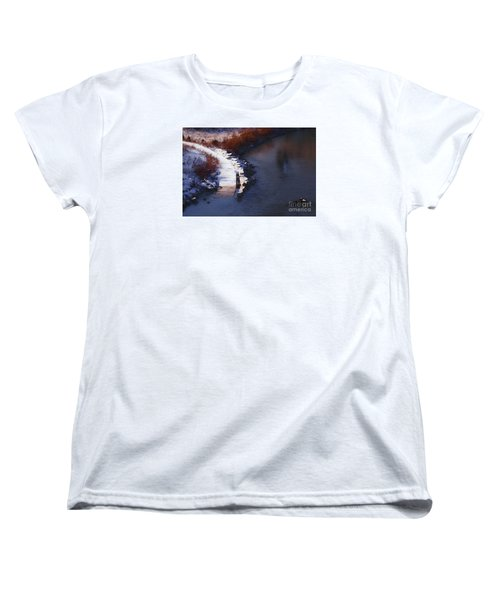 33rd And Canal Women's T-Shirt (Standard Cut) by David Blank