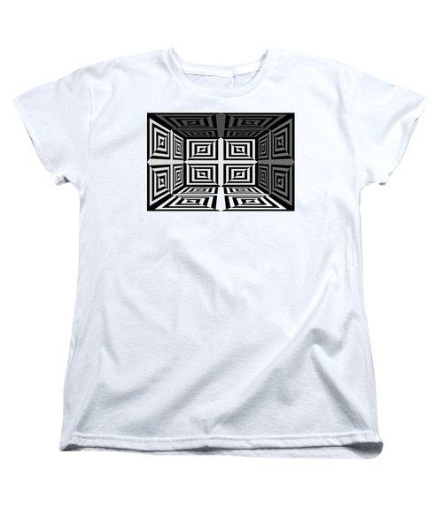 Women's T-Shirt (Standard Cut) featuring the photograph 3d Mg253daw by Mike McGlothlen