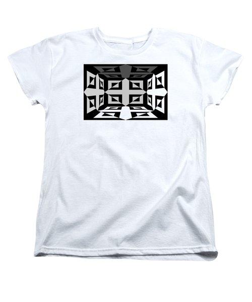 Women's T-Shirt (Standard Cut) featuring the photograph 3d Mg3d4w by Mike McGlothlen