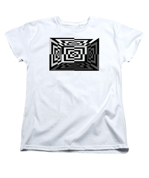 Women's T-Shirt (Standard Cut) featuring the photograph 3Dw by Mike McGlothlen