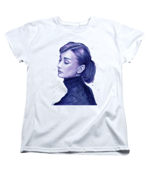Audrey Hepburn Portrait Women's T-Shirt (Standard Fit)