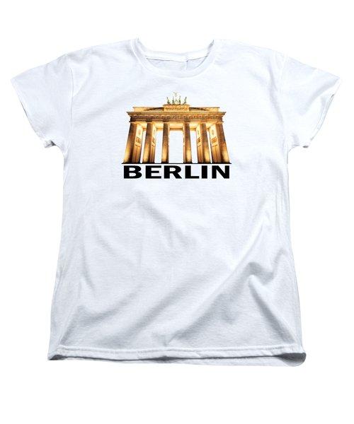Brandenburg Gate Women's T-Shirt (Standard Cut)