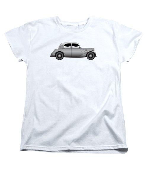 Coupe - Vintage Model Of Car Women's T-Shirt (Standard Cut) by Michal Boubin
