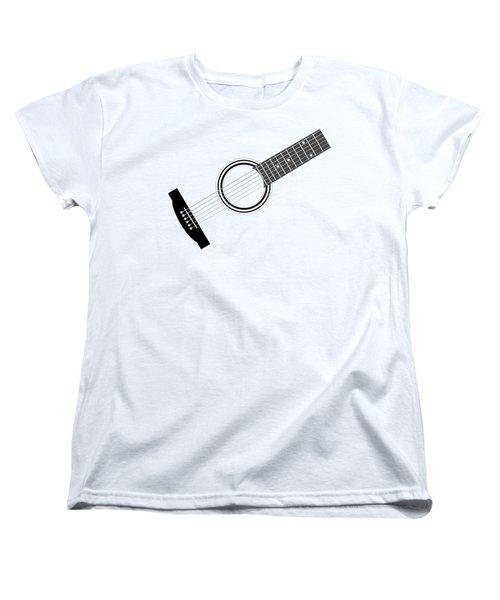 Women's T-Shirt (Standard Cut) featuring the digital art Guitar by Michal Boubin