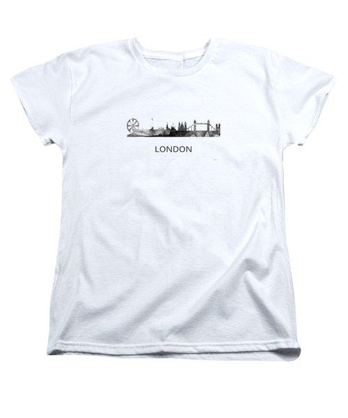 London England Skyline Women's T-Shirt (Standard Fit)
