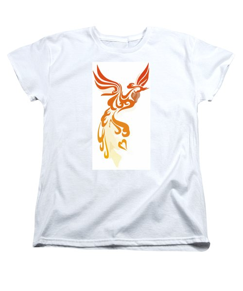 Phoenix Women's T-Shirt (Standard Cut) by Frederick Holiday