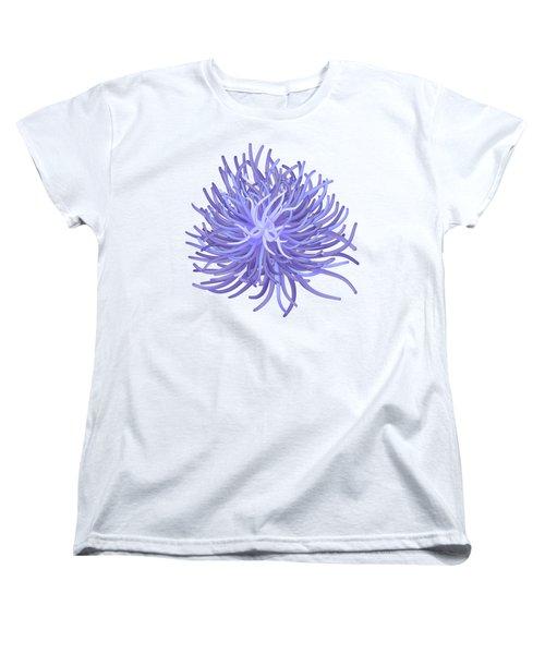 Sea Anemone Women's T-Shirt (Standard Cut) by Michal Boubin