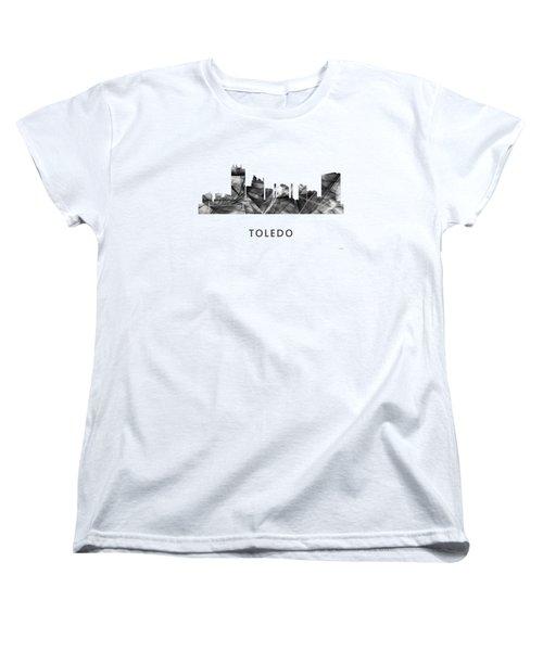 Toledo Ohio Skyline Women's T-Shirt (Standard Cut)