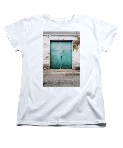 Women's T-Shirt (Standard Cut) featuring the photograph Door With No Number by Marco Oliveira