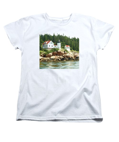 Lighthouse Women's T-Shirt (Standard Cut) by Raymond Earley