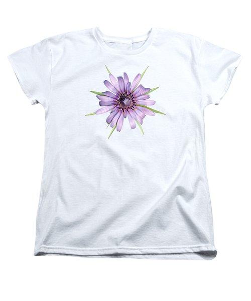 Women's T-Shirt (Standard Cut) featuring the photograph Salsify Flower by George Atsametakis
