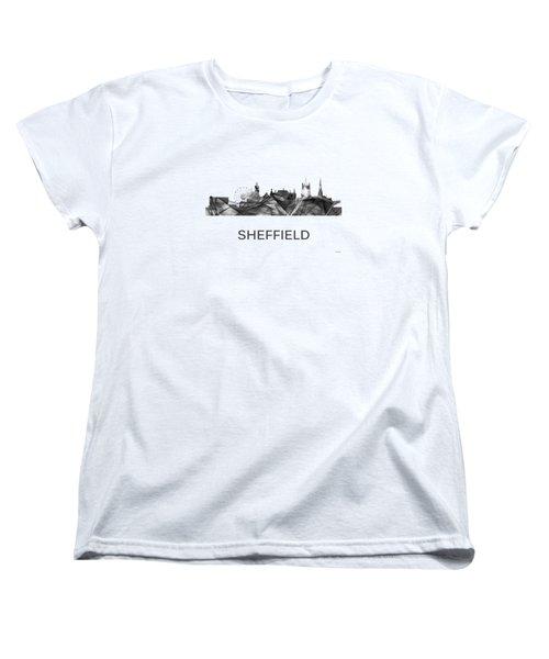 Sheffield England Skyline Women's T-Shirt (Standard Fit)