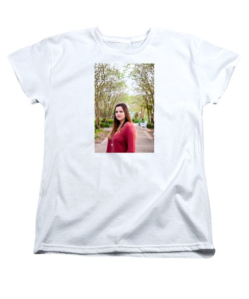 Women's T-Shirt (Standard Cut) featuring the photograph 5530 by Teresa Blanton