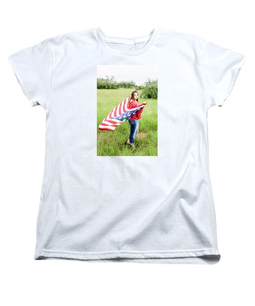 Women's T-Shirt (Standard Cut) featuring the photograph 5644-2 by Teresa Blanton