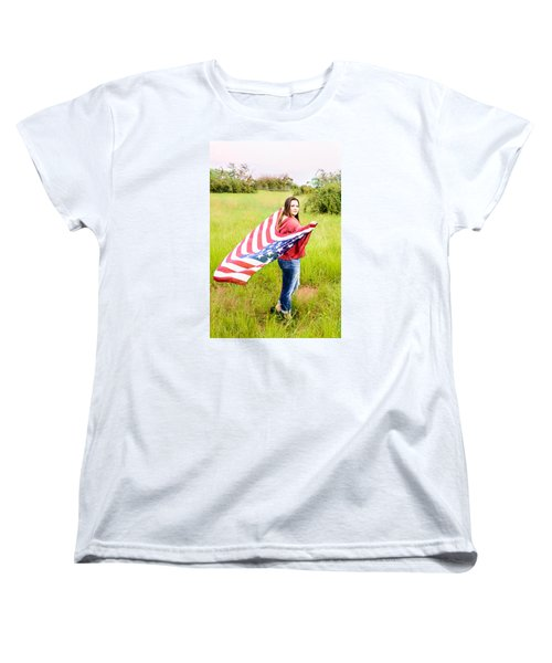 Women's T-Shirt (Standard Cut) featuring the photograph 5644 by Teresa Blanton