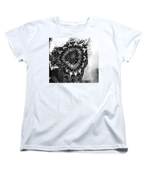 Women's T-Shirt (Standard Cut) featuring the photograph And Grandma Did The Cooking  by Danica Radman