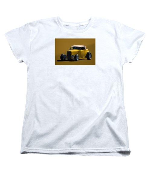 1932 Ford Roadster Hot Rod Women's T-Shirt (Standard Cut) by Tim McCullough