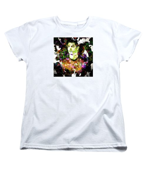Cristiano Ronaldo Women's T-Shirt (Standard Cut) by Svelby Art