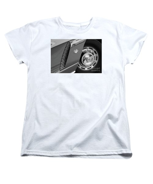 Women's T-Shirt (Standard Cut) featuring the photograph '62 In Black And White by Dennis Hedberg