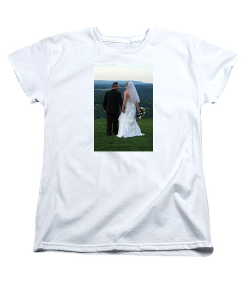 Rebecca And David Women's T-Shirt (Standard Cut) by Michael Dorn