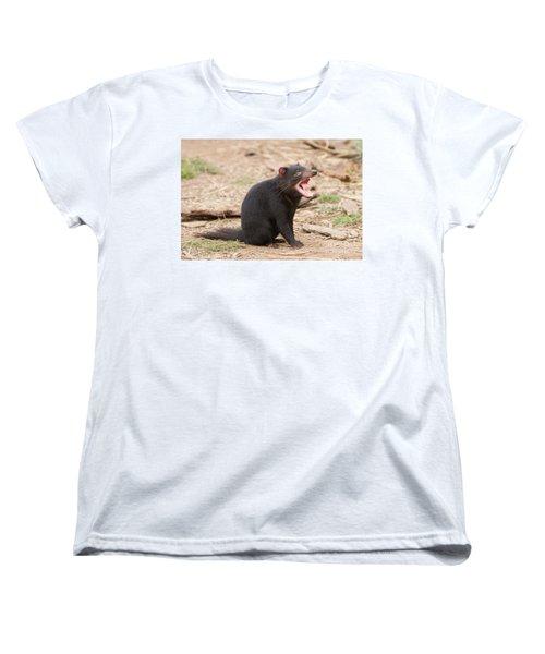 Tasmanian Devil Women's T-Shirt (Standard Cut) by Craig Dingle