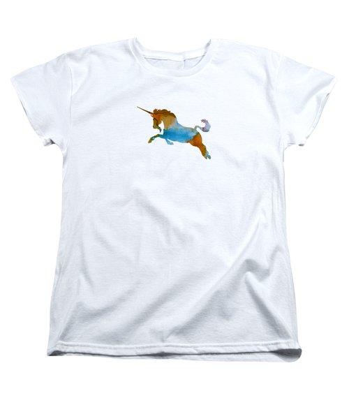 Unicorn Women's T-Shirt (Standard Cut) by Mordax Furittus