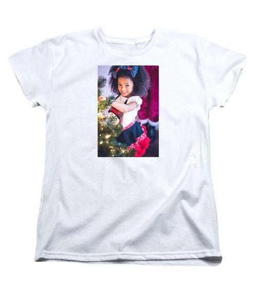 7411-2 Women's T-Shirt (Standard Cut) by Teresa Blanton