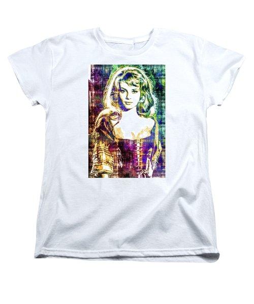 Michele Mercier Women's T-Shirt (Standard Cut) by Svelby Art
