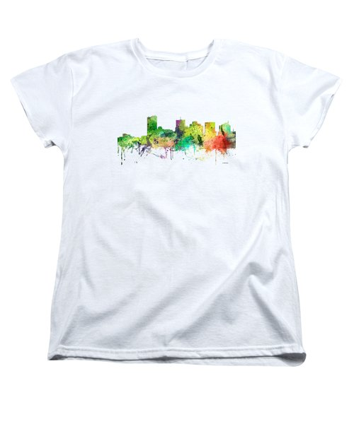 Phoenix Arizona Skyline Women's T-Shirt (Standard Cut)