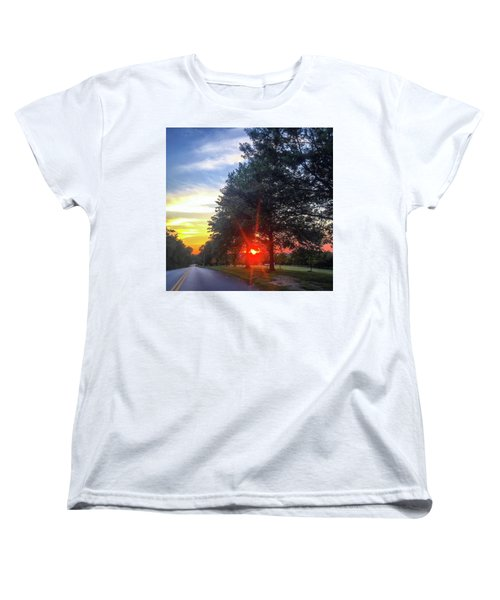 Women's T-Shirt (Standard Cut) featuring the photograph 9 June 16 Rowing Club by Toni Martsoukos