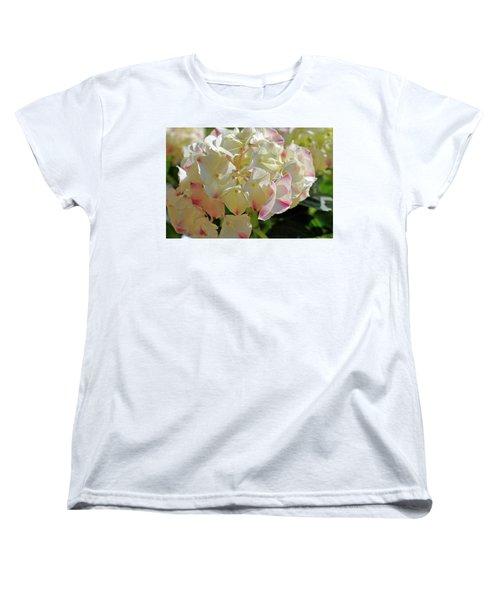 Women's T-Shirt (Standard Cut) featuring the photograph A Blush Of Pink by Cricket Hackmann
