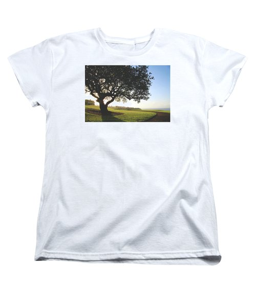 Women's T-Shirt (Standard Cut) featuring the photograph A Dreamy Dream by Laurie Search