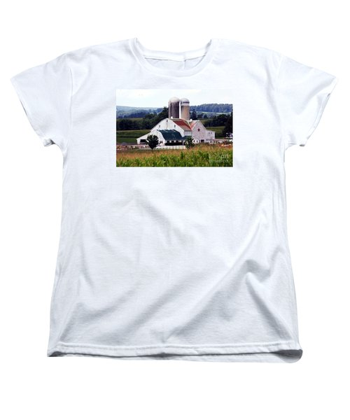 Women's T-Shirt (Standard Cut) featuring the photograph A Farmer's Paradise by Polly Peacock
