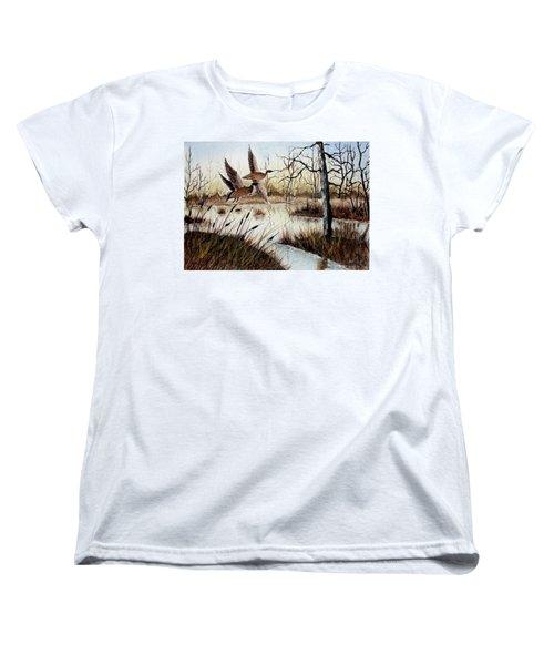 A 'jerry Yarnell' Study Women's T-Shirt (Standard Cut) by Jimmy Smith