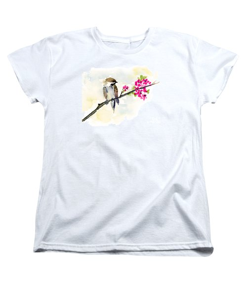 A Little Bother Women's T-Shirt (Standard Cut) by Amy Kirkpatrick