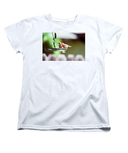 A Little Lunch Women's T-Shirt (Standard Cut) by Wade Courtney