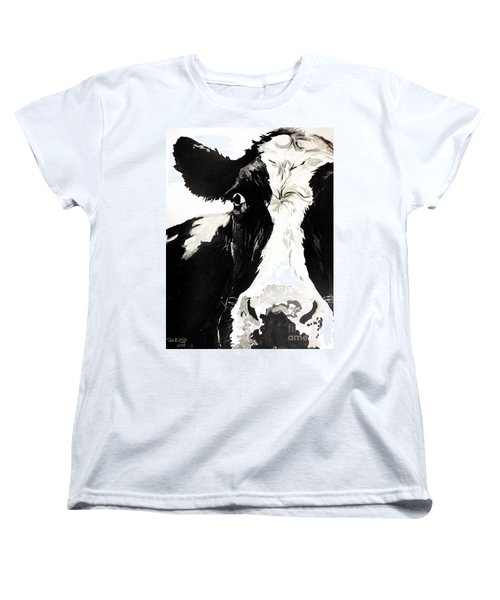 A Little Shy Women's T-Shirt (Standard Cut) by Tom Riggs